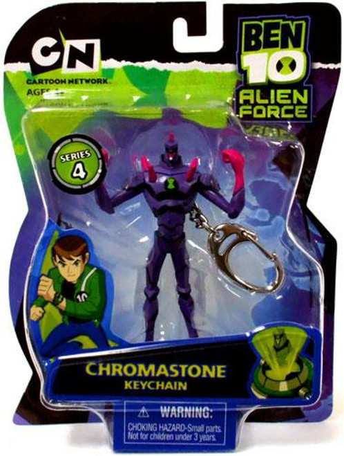 Ben 10 Alien Force Series 4 Chromastone Keychain