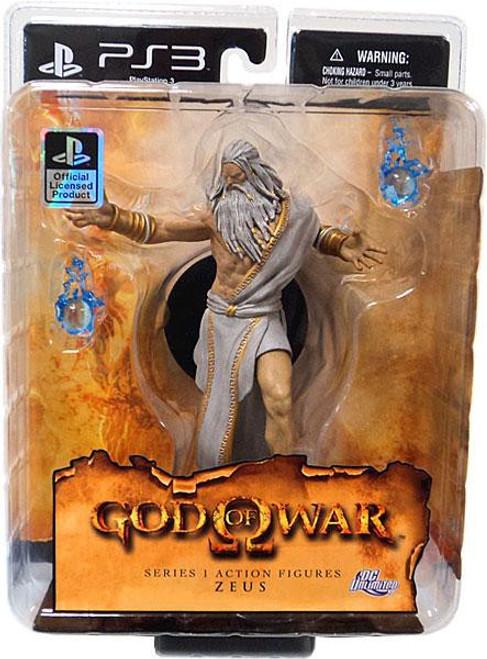 God of War Series 1 Zeus Action Figure