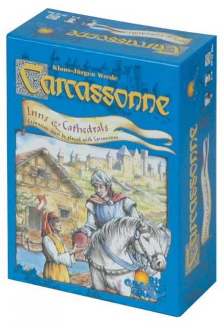 Carcassonne: Inns and Cathedrals Board Game Expansion