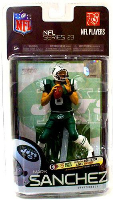 McFarlane Toys NFL New York Jets Sports Picks Exclusive Mark Sanchez Exclusive Action Figure [Green Jersey & Green Pants Variant]