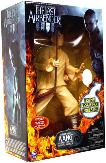 Avatar the Last Airbender Ultimate Battle Aang Figure