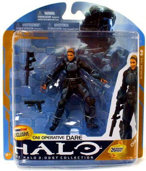 McFarlane Toys Halo 3 Series 8 ONI Operative Dare Exclusive Action Figure