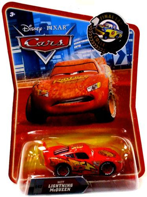 Disney Cars Final Lap Collection Wet Lightning McQueen Exclusive Diecast Car