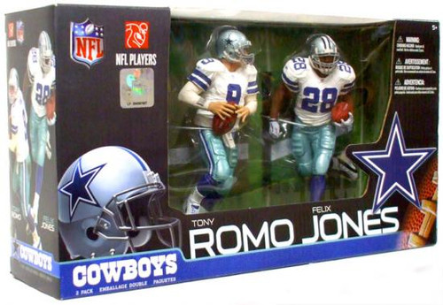 McFarlane Toys NFL Dallas Cowboys Sports Picks 2-Packs Tony Romo & Felix Jones Exclusive Action Figure 2-Pack