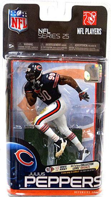 McFarlane Toys NFL Chicago Bears Sports Picks Series 25 Julius Peppers Action Figure [Blue Jersey]