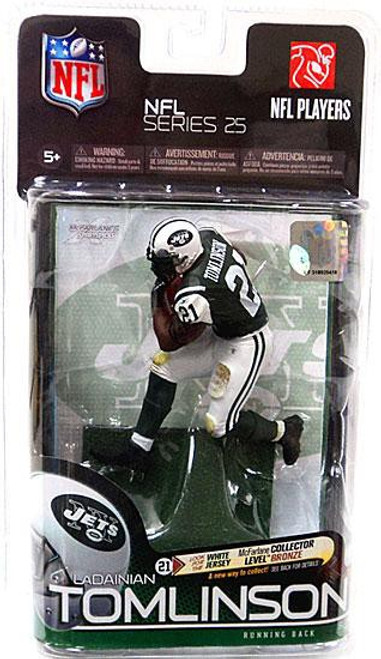 McFarlane Toys NFL New York Jets Sports Picks Series 25 LaDainian Tomlinson Action Figure [Green Jersey]