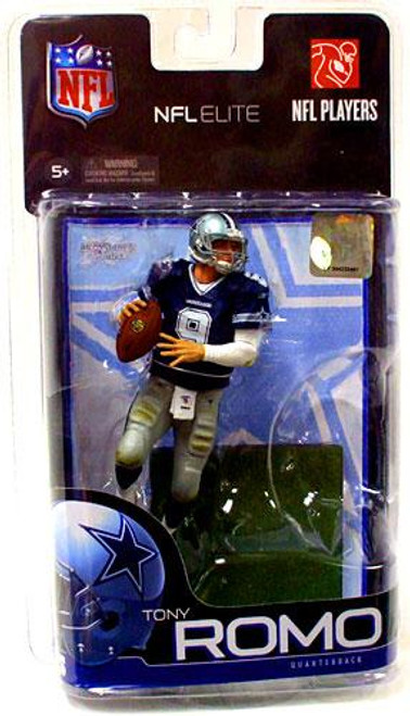 McFarlane Toys NFL Dallas Cowboys Sports Picks Elite Series 1 Tony Romo Exclusive Action Figure [Blue Jersey]