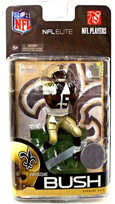 McFarlane Toys NFL New Orleans Saints Sports Picks Elite Series 1 Reggie Bush Exclusive Action Figure