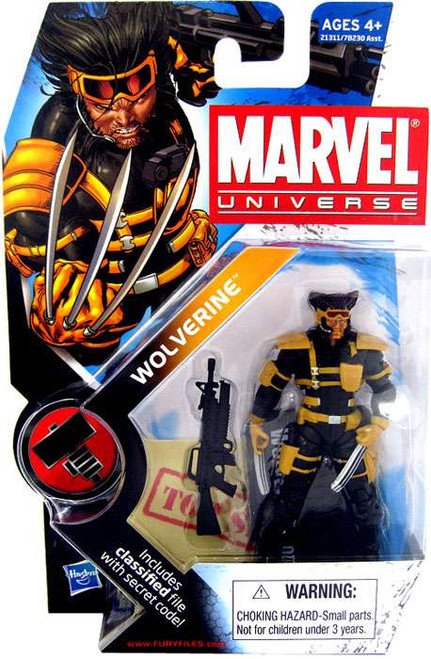 Marvel Universe Series 10 Wolverine Action Figure #27 [Team X]