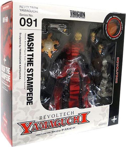 Trigun Yamaguchi Revoltech Vash the Stampede Action Figure #091