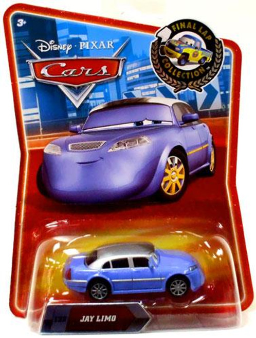 Disney Cars Final Lap Collection Jay Limo Exclusive Diecast Car