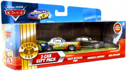 Disney Cars Multi-Packs Piston Cup 3-Car Gift Pack Exclusive Diecast Car Set [Announcers]