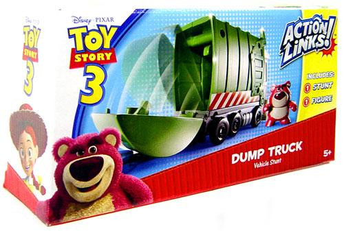 Toy Story 3 Action Links Vehicle Stunt Dump Truck Playset