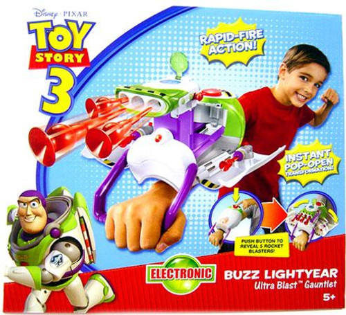 Toy Story 3 Buzz Lightyear Ultra Blast Gauntlet Roleplay Toy