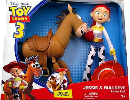 Toy Story 3 Jessie & Bullseye Doll 2-Pack
