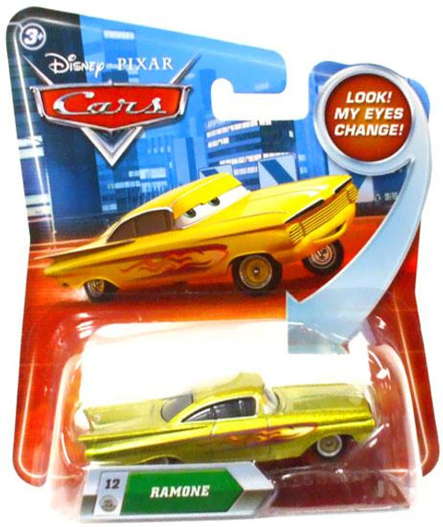 Disney Cars Lenticular Eyes Series 2 Ramone Diecast Car [Gold]