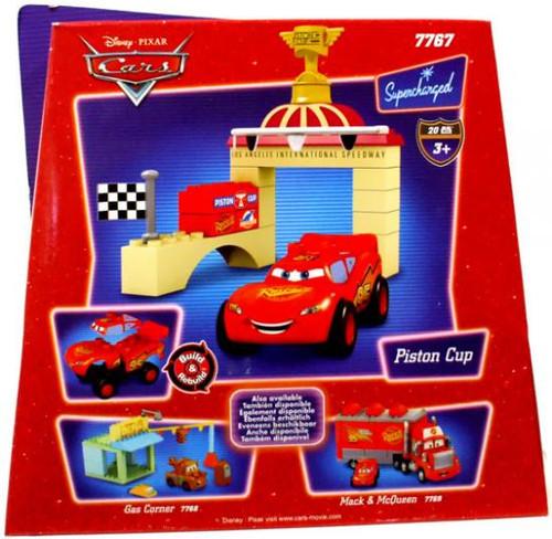 Mega Bloks Disney Cars Supercharged Piston Cup Set #7767