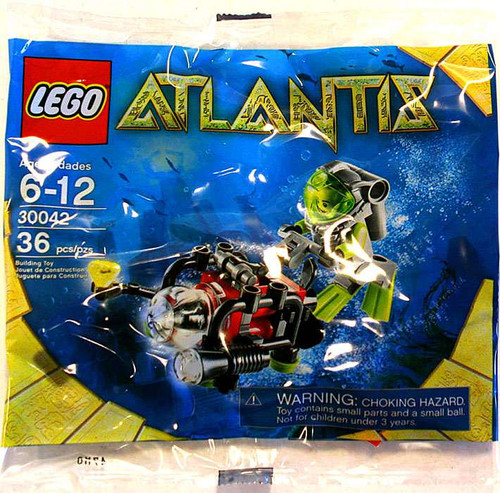 LEGO Atlantis Diver Mini Set #30042 [Bagged]