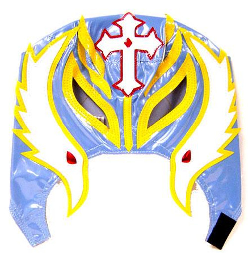 WWE Wrestling Rey Mysterio Replica Mask [Youth, Light Blue & Yellow]
