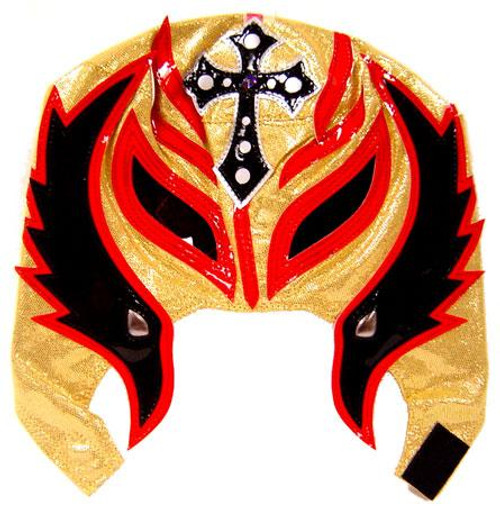 WWE Wrestling Rey Mysterio Replica Mask [Youth, Black, Red & Gold]