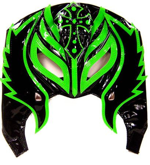 WWE Wrestling Rey Mysterio Replica Mask [Youth, Green & Black]