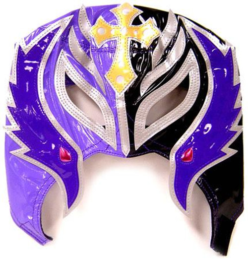 WWE Wrestling Rey Mysterio Replica Mask [Youth, Purple & Gray]