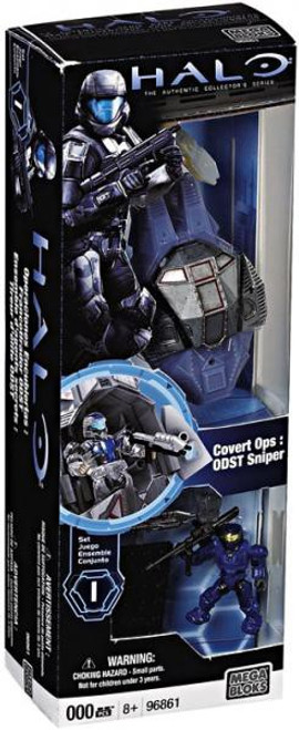 Mega Bloks Halo The Authentic Collector's Series Covert Ops: ODST Sniper Set #96861