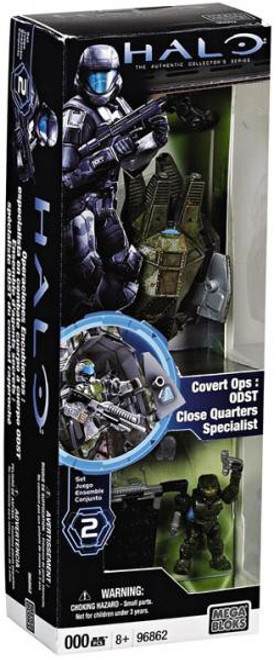 Mega Bloks Halo The Authentic Collector's Series Covert Ops: ODST Close Quarters Specialist Set #96862