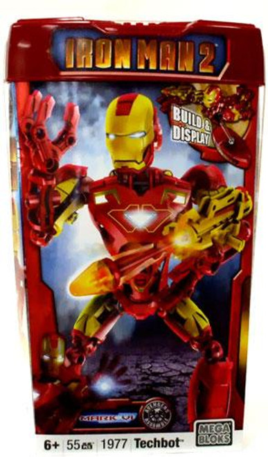Mega Bloks Iron Man 2 Mark VI Techbot Set #1977