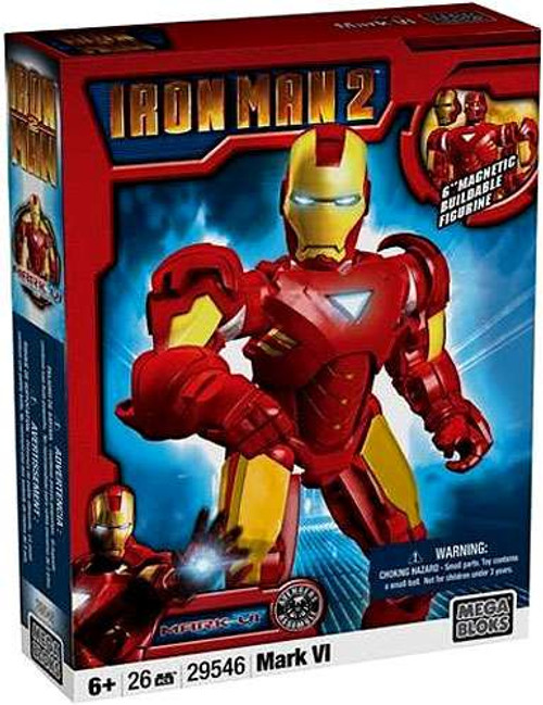 Mega Bloks Iron Man 2 Iron Man Mark VI Set #29546