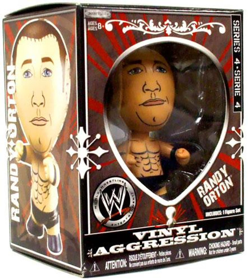 WWE Wrestling Vinyl Aggression Series 4 Randy Orton 3-Inch Vinyl Figure