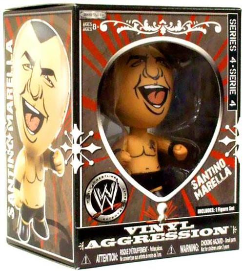 WWE Wrestling Vinyl Aggression Series 4 Santino Marella 3-Inch Vinyl Figure