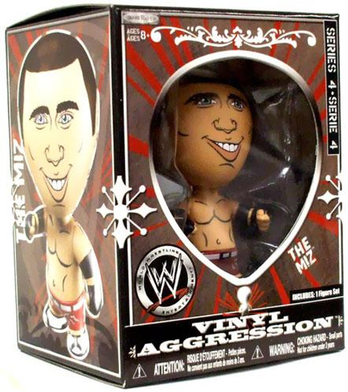 WWE Wrestling Vinyl Aggression Series 4 The Miz 3-Inch Vinyl Figure
