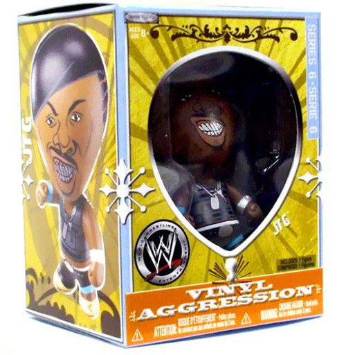 WWE Wrestling Vinyl Aggression Series 6 JTG 3-Inch Vinyl Figure