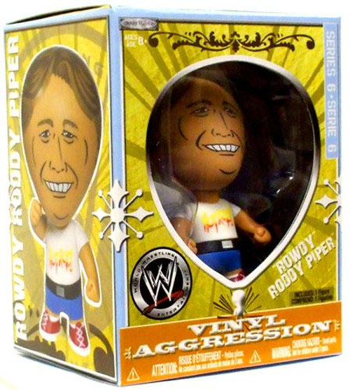 WWE Wrestling Vinyl Aggression Series 6 Rowdy Roddy Piper 3-Inch Vinyl Figure