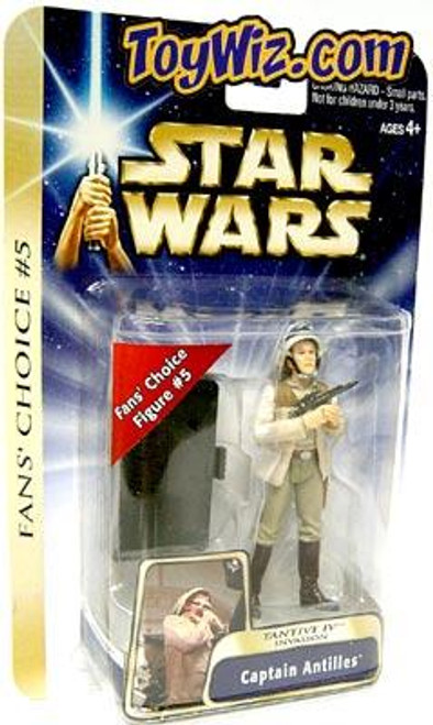 Star Wars A New Hope Basic 2004 Captain Antilles Action Figure #15 [Tantive IV Invasion]