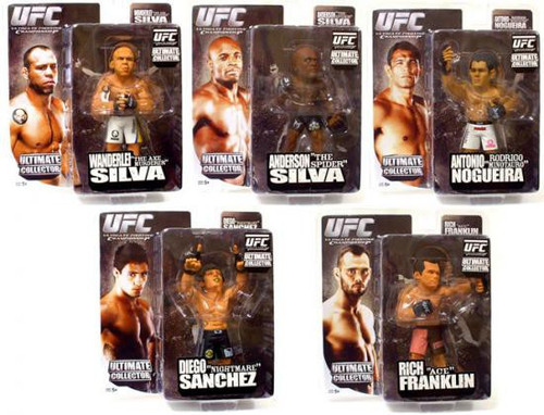 UFC Ultimate Collector Series 3 Set of 5 Action Figures