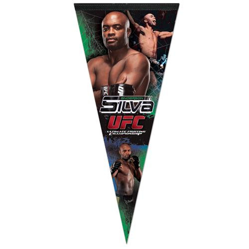 UFC Anderson Silva Pennant