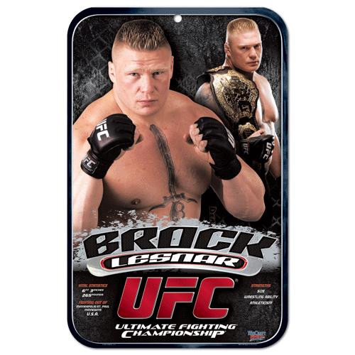 UFC Brock Lesnar Sign