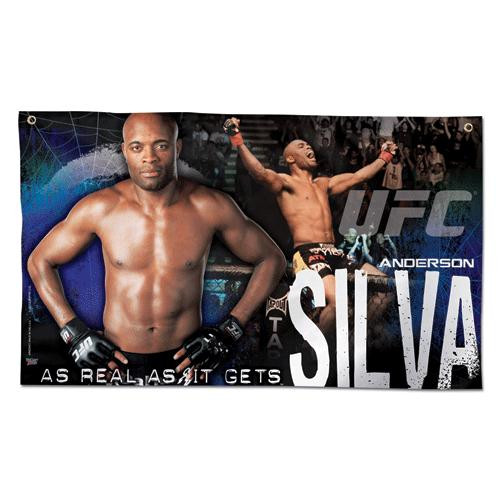 UFC Anderson Silva Wall Banner