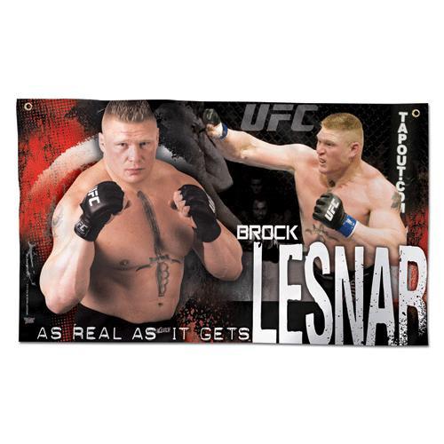 UFC Brock Lesnar Wall Banner