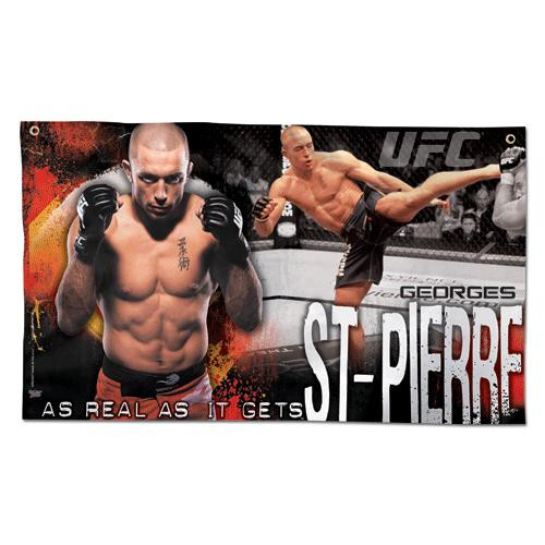 UFC Georges St Pierre Wall Banner