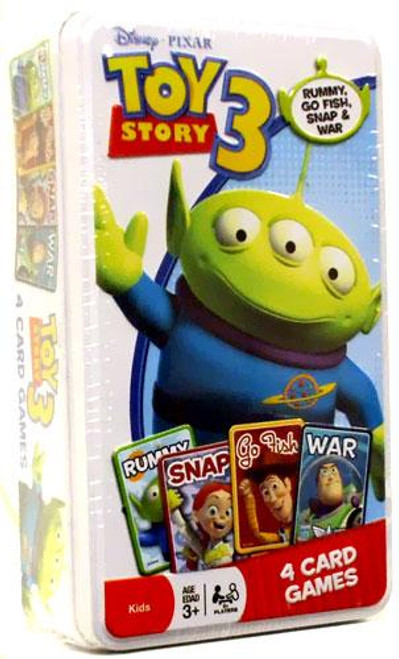 Disney Toy Story 3 Tin of 4 Card Games