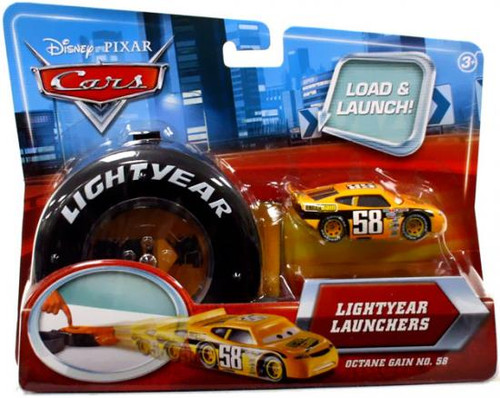 Disney Cars Lightyear Launchers Octane Gain No. 58 Diecast Car