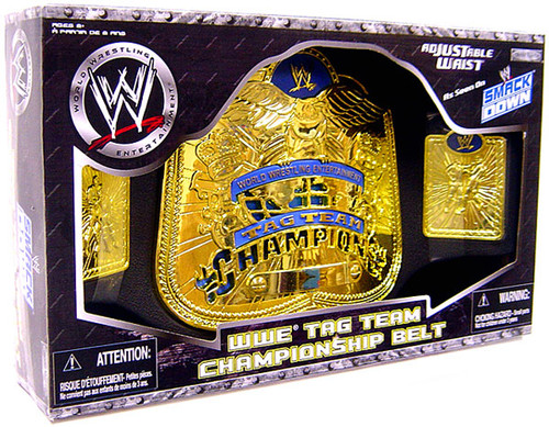 WWE Wrestling Kids Replicas Smackdown Tag Team Championship Belt