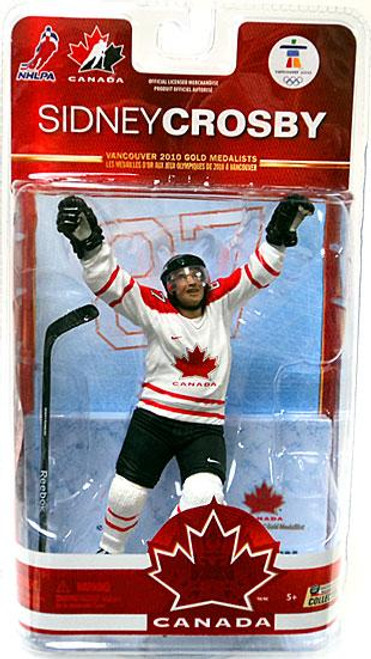 McFarlane Toys NHL Pittsburgh Penguins Sports Picks Team Canada Series 2 Sidney Crosby Action Figure [White Jersey]