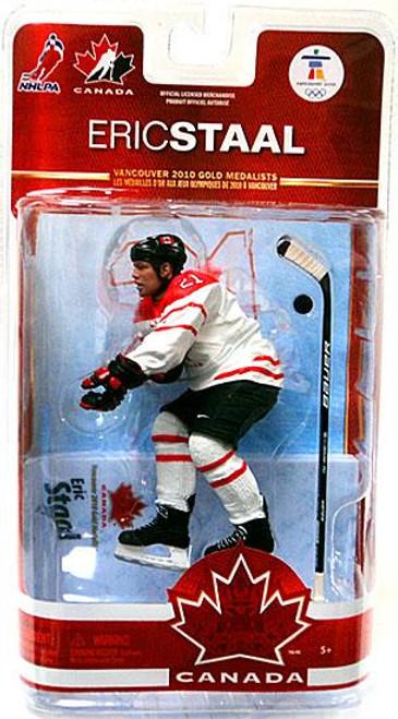 McFarlane Toys NHL Carolina Hurricanes Sports Picks Team Canada Series 2 Eric Staal Action Figure [White Jersey]
