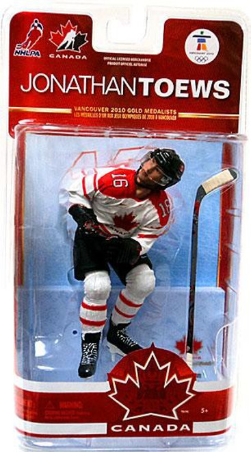 McFarlane Toys NHL Chicago Blackhawks Sports Picks Team Canada Series 2 Jonathan Toews Action Figure [White Jersey]