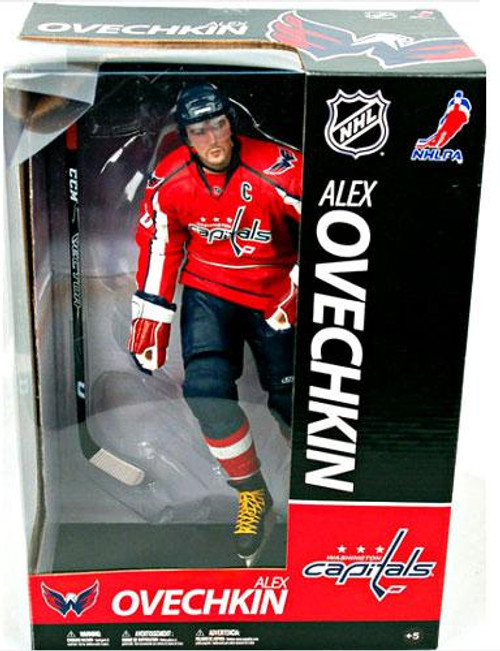 McFarlane Toys NHL Washington Capitals Sports Picks 12 Inch Deluxe Alexander Ovechkin Action Figure [Red Jersey]