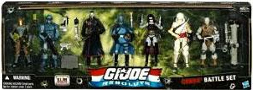GI Joe Resolute Cobra Battle Set Action Figure 7-Pack